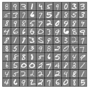 Sample handwritten digits