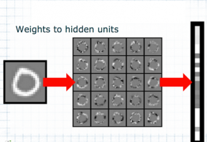 Mapping of 0 to hidden units