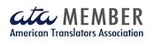 Professional ATA-certified Translator