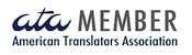 Professional ATA-certified Translator