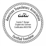 ATA-certification English into German