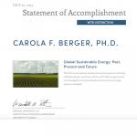 Erneuerbare Energien, Öl und Gas
