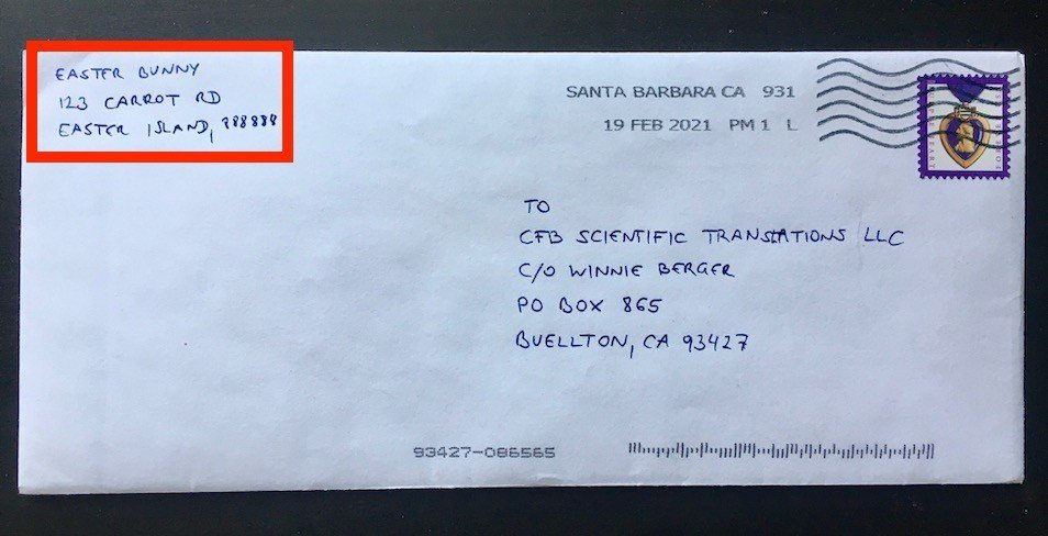 A Letter from the Easter Bunny – on Email Phishing and Other Spoofs